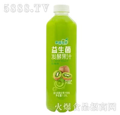果园王子益生菌发酵果汁猕猴桃味1.25L