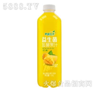 果园王子益生菌发酵果汁芒果味1.25L