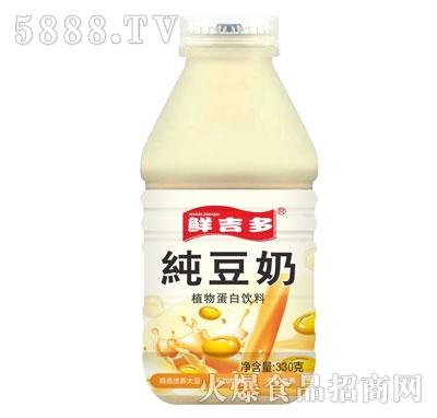 鲜吉多纯豆奶330mL