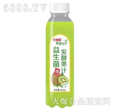 饮得喜果园王子益生菌发酵果汁猕猴桃味450mL