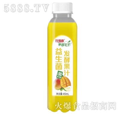 饮得喜果园王子益生菌发酵果汁芒果味450mL