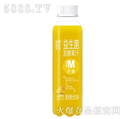 鲜吉多益生菌发酵果汁芒果味450ml