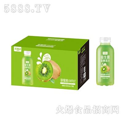 乐事达益生菌发酵猕猴桃果汁420ml×15瓶