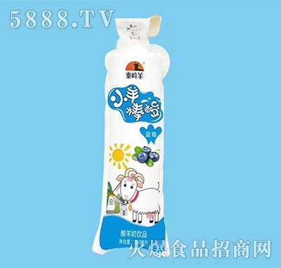 秦岭羊小羊棒酸羊奶蓝莓味160ml