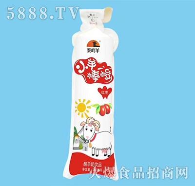 秦岭羊小羊棒酸羊奶红枣味160ml