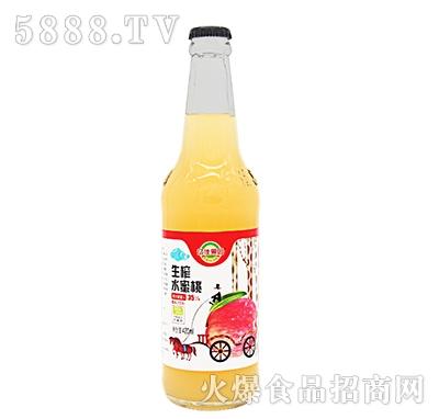 亿佳果园生榨水蜜桃果汁420ml