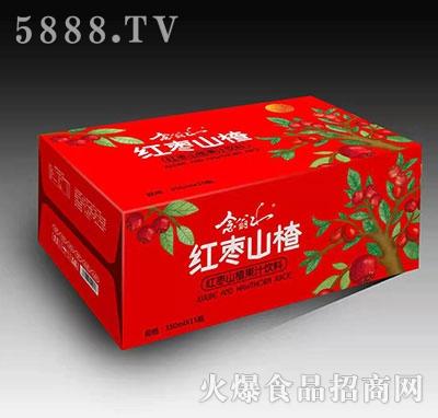 念翁山红枣山楂汁350mlx15