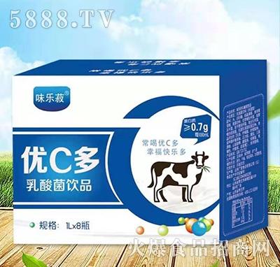 优C多乳酸菌饮品1Lx8瓶