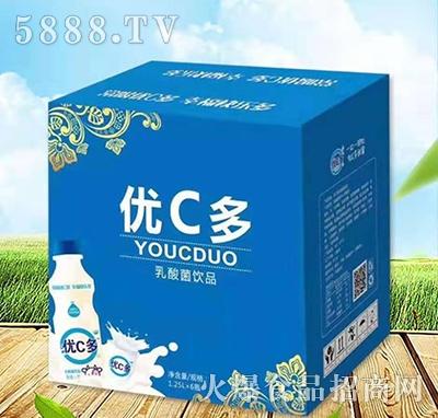 优C多乳酸菌饮料1.25Lx6瓶