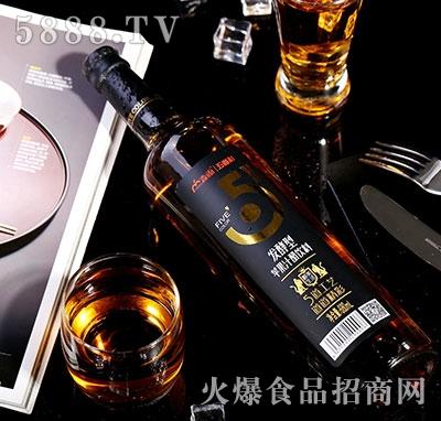 淼雨五道彩苹果汁醋680ml瓶装