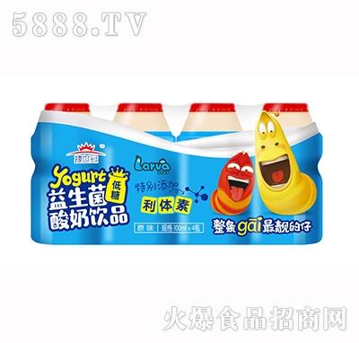捷世冠益生菌酸奶饮品100mlx4瓶