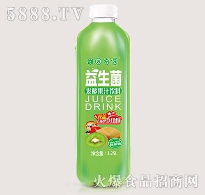 果园奇遇益生菌发酵猕猴桃果汁饮料1.25L