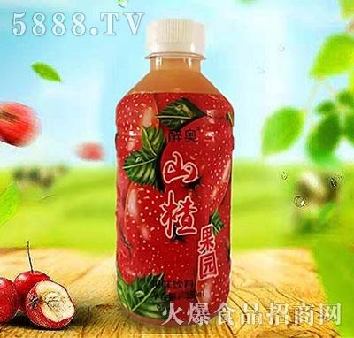 醉奥山楂果园果味饮料350ml