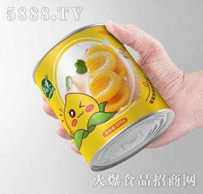 康运来水果罐头820g