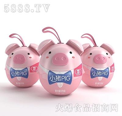 旺仔小猪PIG复合蛋白饮料草莓味200ml