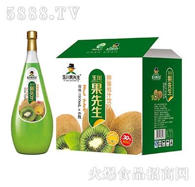1.5L×6果先生猕猴桃汁饮料产品图