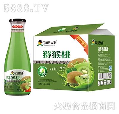 1.5L×6玉川果先生猕猴桃果汁饮料产品图