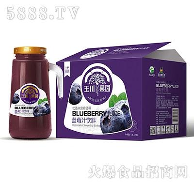 1.5L×6玉川果园手柄优选蓝莓汁饮料