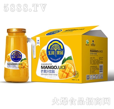 1.5L×6玉川果园手柄优选芒果汁饮料