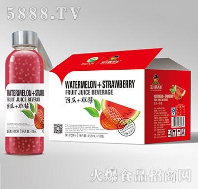 418ml×12果先生水杯西瓜草莓汁饮料