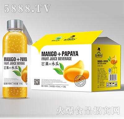 418ml×12果先生水杯芒果木瓜汁饮料