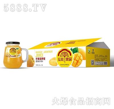 330ml×12玉川果园芒果菠萝蜜复合果汁饮料