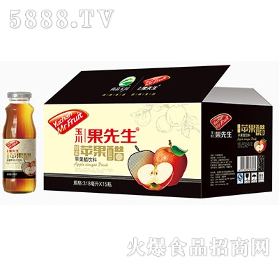318ml×15玉川果先生苹果醋饮料产品图