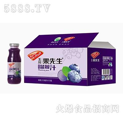 318ml×15玉川果先生蓝莓汁饮料