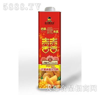 1.5L×6玉川果先生喜庆装保鲜屋芒果木瓜汁饮料