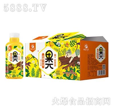 500ml×15果π芒果木瓜果汁饮料