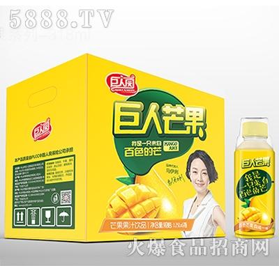 巨人园芒果果汁饮品318ml