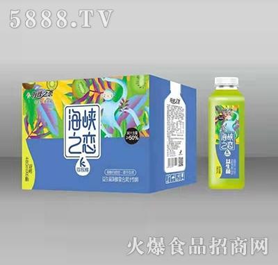 海峡之恋猕猴桃益生菌发酵复合果汁饮料480mlx6瓶