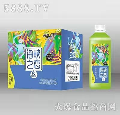 海峡之恋猕猴桃益生菌发酵复合果汁饮料1.2Lx6瓶