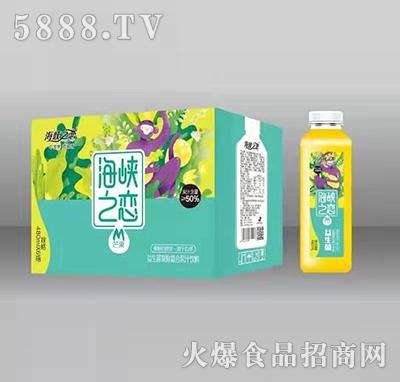 海峡之恋芒果益生菌发酵复合果汁饮料480mlx6瓶