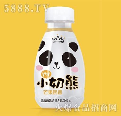 my小奶熊芒果奶昔乳酸菌饮品380ml