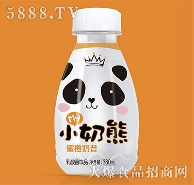 my小奶熊蜜橙奶昔乳酸菌饮品380ml