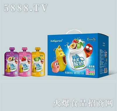 捷世冠果泥酸奶150克x20袋
