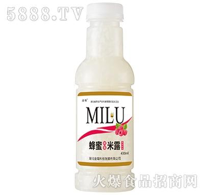 劲莓蜂蜜米露风味饮料430ml
