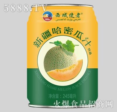 西域使者新疆哈密瓜汁果汁饮料245ml