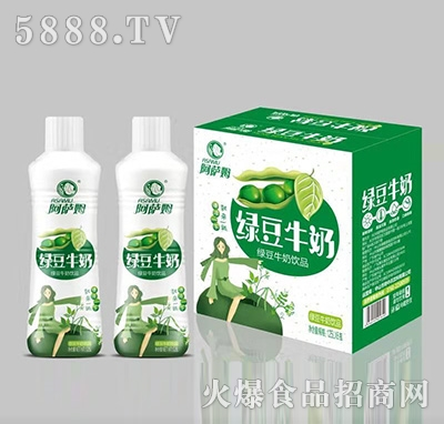 阿萨姆绿豆牛奶饮品1.25Lx6瓶