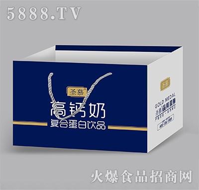 圣慕高钙奶复合蛋白饮品礼盒装