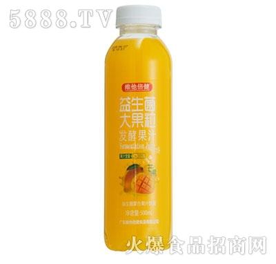维他倍健益生菌大果粒发酵芒果汁500ml