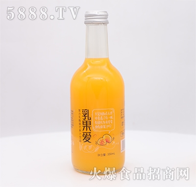 乳果爱复合乳酸菌芒果汁饮品330ml