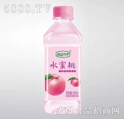 冰芬青春水蜜桃苏打水350ml