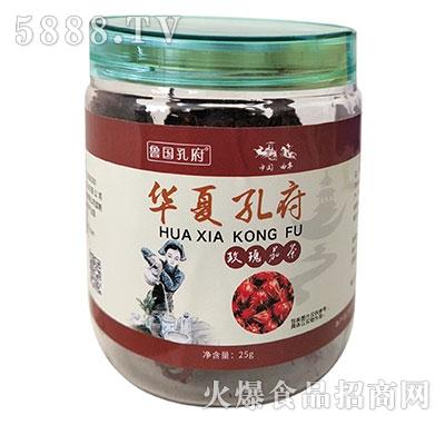 鲁国孔府玫瑰花茶25g产品图