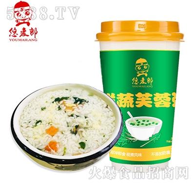 悠麦郎鲜蔬芙蓉汤速食粥产品图
