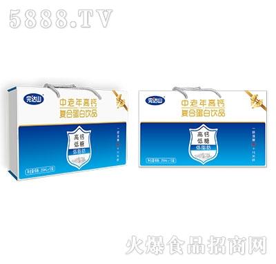完达山中老年高钙精品盒250mlX12盒