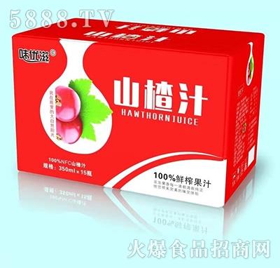 味优滋山楂汁饮料350mlx15瓶
