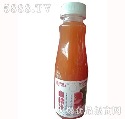 味优滋山楂汁饮料350ml