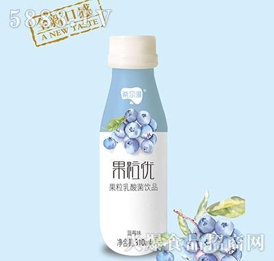 希尔漫果粒优果粒乳酸菌饮品蓝莓味310ml